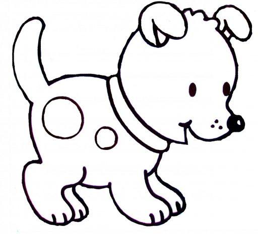 como dibujar un perro facil paso apaso